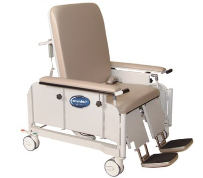 Stretchair bariatric chair